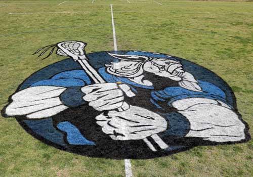 Sports club grass logos