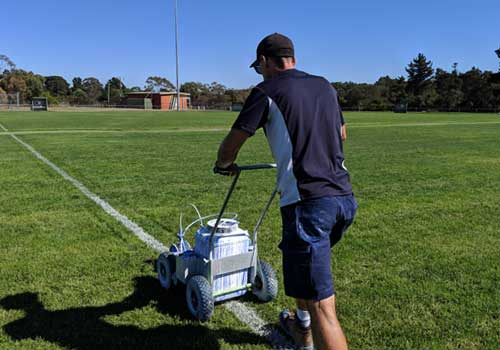 Line Marking for Soccer Pitch