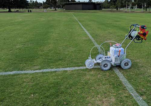 Professional Line Marking of Sports Grounds