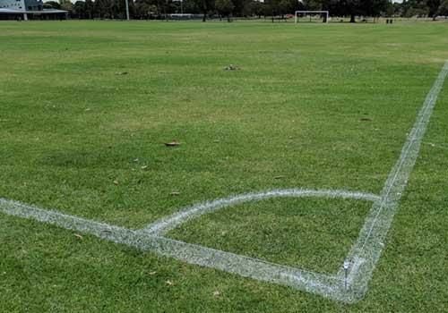 Line Marking Sports Ground